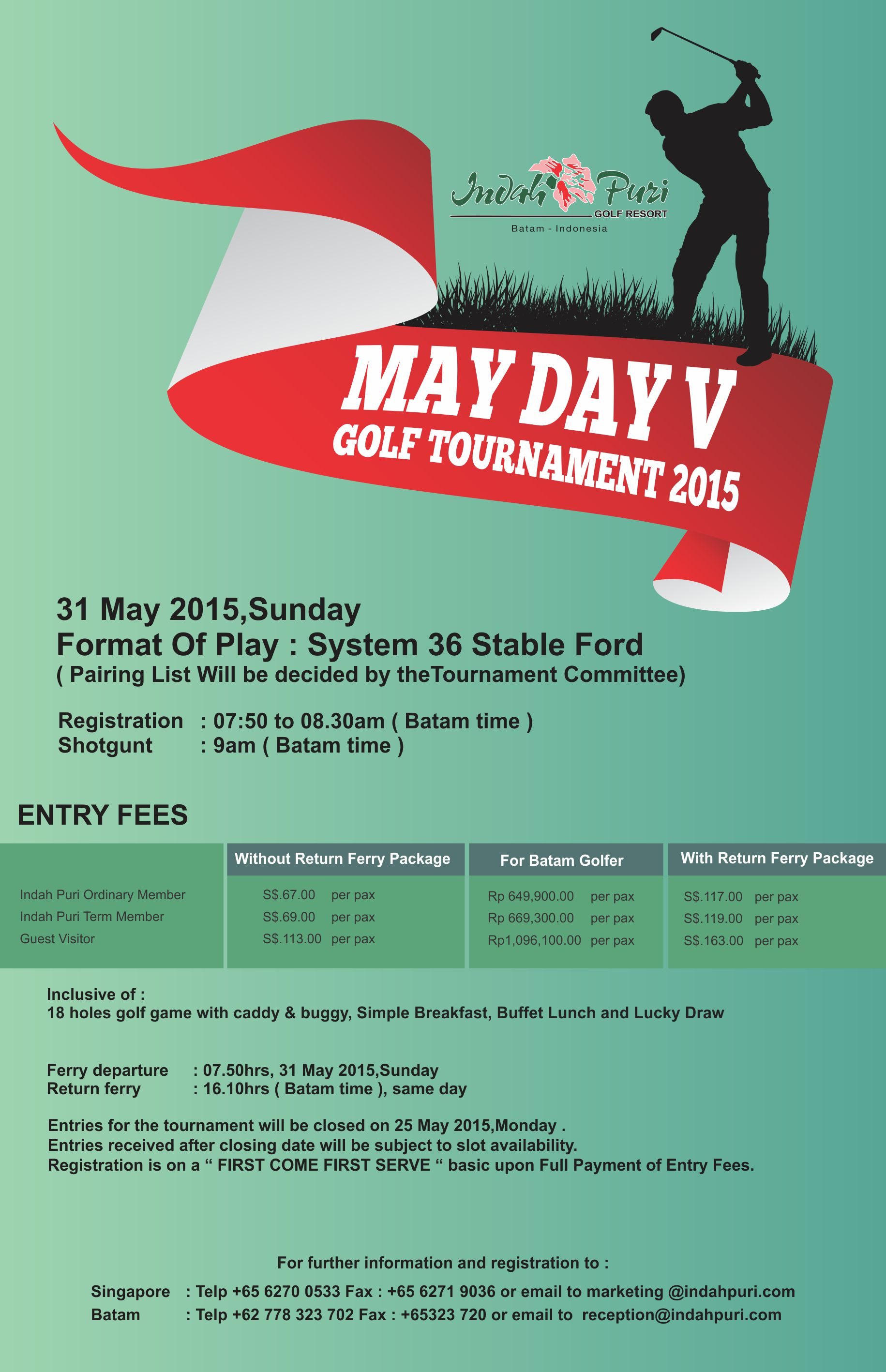 May Day V Annual Golf Tournament